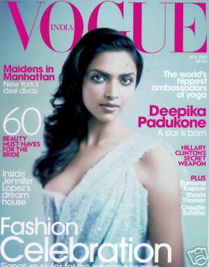 Bollywood hotties on Vogue India cover page