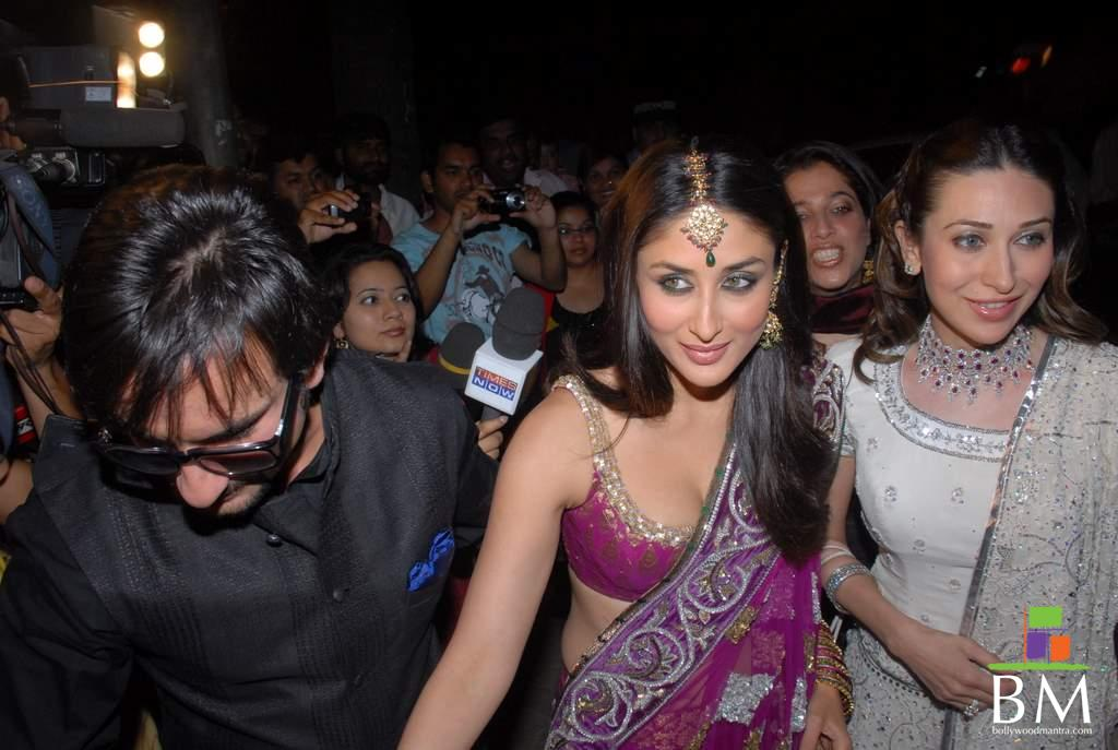 saif ali khan kareena kapoor karishma kapur   78672 - Polling 4 Showbiz Competition January 2010