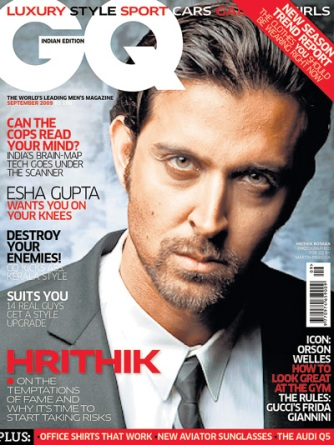 Hrithik Roshan en la revista GQ…!!!